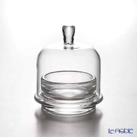 Toyo Sasaki Glass 'Hana Kazari' Mini Cake Dome (set of 6) TS44013 东洋佐佐木玻璃 '花饰' 迷你玻璃罩 (6件套)