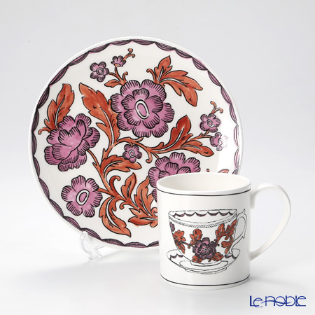 Twig New York Heritage Plate and Mug, rosa rugosa