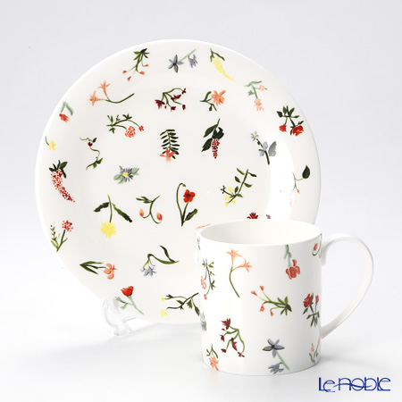 Twig New York Language of Flowers Plate and Mug, floret