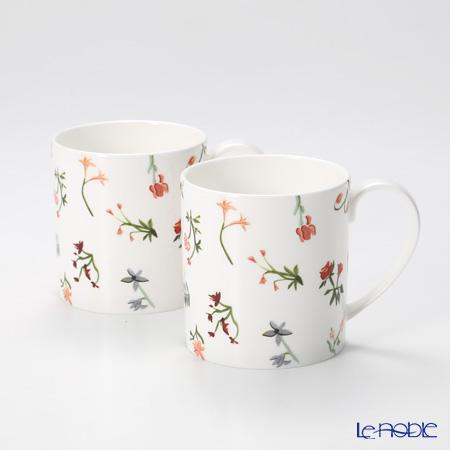Twig New York Language of Flowers Mug, floret set of 2