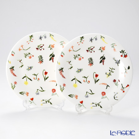 Twig New York Language of Flowers Plate 21 cm, floret set of 2