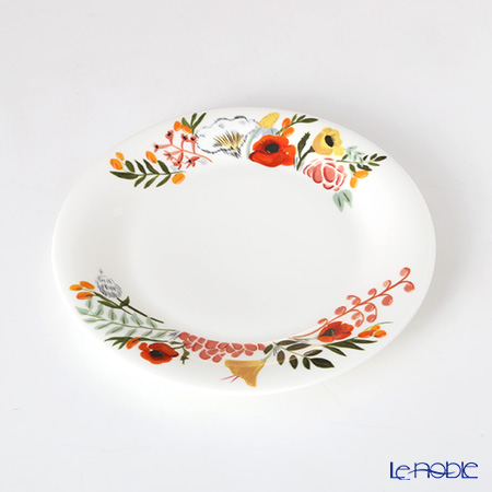 Twig New York 'Language of Flowers' Bouquet Plate 21.5cm (set of 2)
