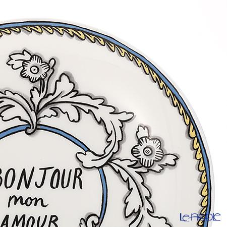Twig New York Enjoy and Mon Amour Bonjour Mon Amour Set, Plate & Mug