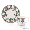 Twig New York 'Always' Marie (Pink / Green) Plate & Mug (set of 2 for 1 person)
