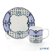 Twig New York 'Always' Sophie (Blue) Plate & Mug (set of 2 for 1 person)