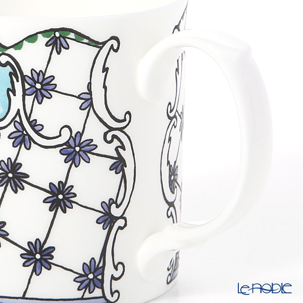 Twig New York 'Always' Daphne (Light Blue) Plate & Mug (set of 2 for 1 person)