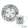 Twig New York 'Always' Daphne (Light Blue) Plate & Mug (set of 2)