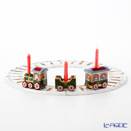 Villeroy & Boch 'North Pole Express - X-mas Tree & Train with Tracks / Christmas' Candle Holder (set of 8)