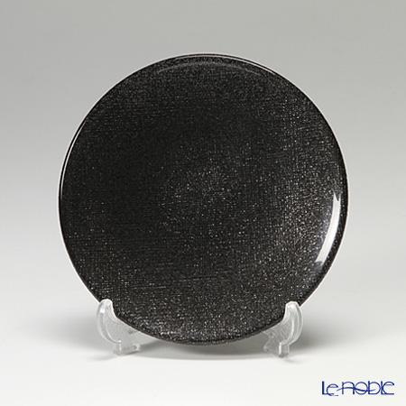 Vetro Felice 'Glitter' Dark Grey Plate 14cm (set of 4)