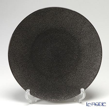 Vetro Felice 'Glitter' Dark Grey Plate 28cm (set of 4)