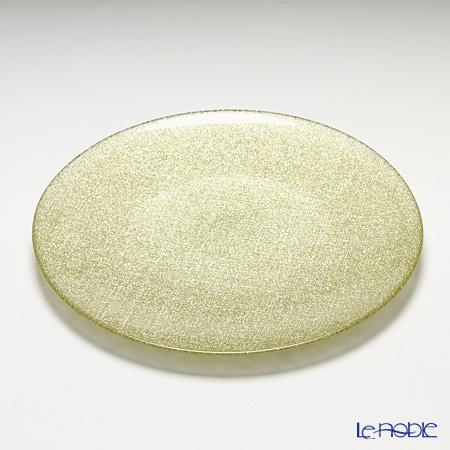 Vetro Felice 'Glitter' New Gold Plate 28cm (set of 4)
