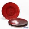 Vetro Felice 'Glitter' Red Plate 28cm (set of 4)