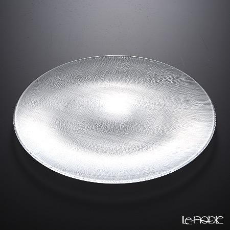Vetro Felice 'Glitter' Clear Plate 35cm (set of 6)