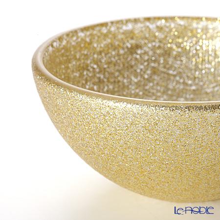 Vetro Felice 'Glitter' New Gold Bowl 9cm (set of 6)