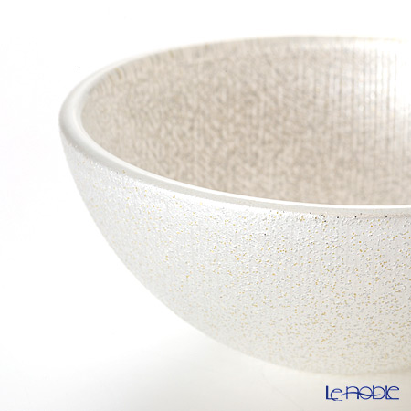 Vetro Felice 'Glitter' White Bowl 9cm (set of 6)