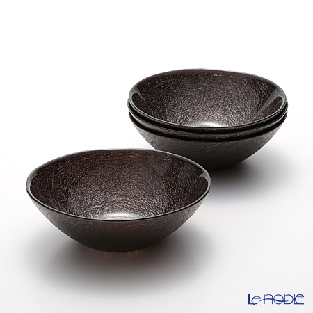 Vetro Felice nesting 627417 Bowl 17 cm iron M122 4/16 set of 4