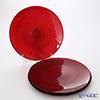 Vetro Felice 'Glitter' Red Plate 35cm (set of 4)