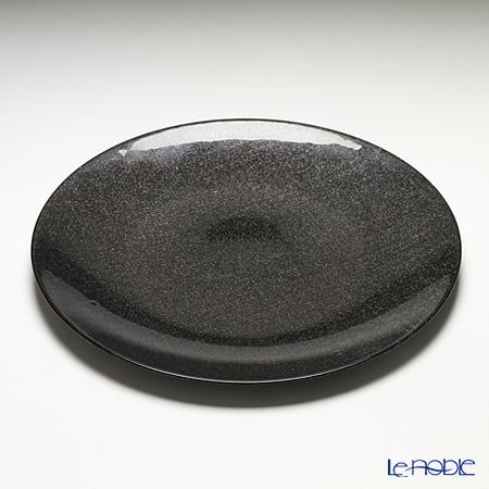 Vetro Felice 'Glitter' Dark Grey Plate 35cm (set of 4)