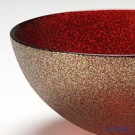 Vetro Felice 'Glitter' Red Bowl 13cm (set of 4)