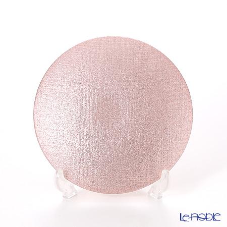 Vetro Felice 'Glitter' Rose Gold Plate 14cm (set of 4)