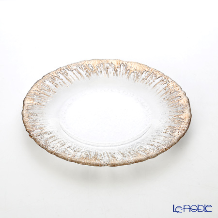 Vetro Felice 'Flash' Ginger Plate 21.5cm (set of 6)