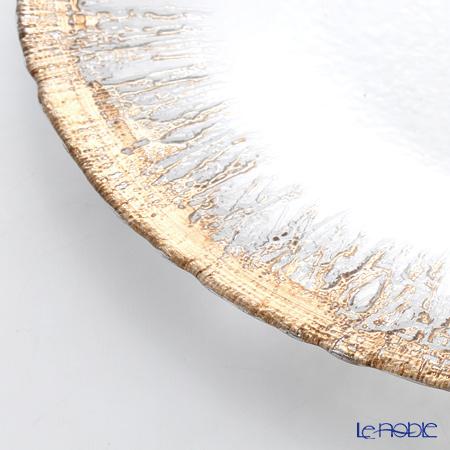 Vetro Felice 'Flash' Ginger Plate 33cm (set of 6)