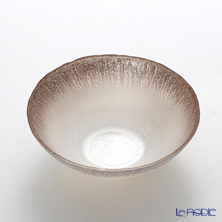 Vetro Felice 'Flash' White Pearl x Ginger Bowl 17cm (set of 4)