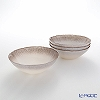 Vetro Felice Flash 649117 Bowl 17 cm (4/16) White Pearl x ginger 4 Pack