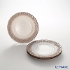 Vetro Felice Flash 349121 Pearl White plates 21.5 cm (4/16) x ginger 4 Pack