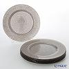 Vetro Felice glitter 323933C Charger plate 33 cm ginger G006 / 6 set of 6
