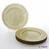 Vetro Felice glitter 323933C Charger plate 33 cm new gold G022 / 6 set of 6