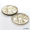 Vetro Felice 'Acanthus' Gold Plate 27.5cm (set of 4)