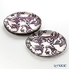 Vetro Felice acanthus 313228P purple Set of 4 plate 28 cm (2/12)