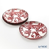 Vetro Felice acanthus 313228P Red Plate 28 cm 2 / 12 set of 4