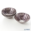 Vetro Felice 'Acanthus' Ppurple Bowl 17cm (set of 4)