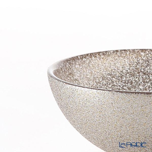 Vetro Felice 'Glitter' Ginger Low Bowl 14cm (set of 2)