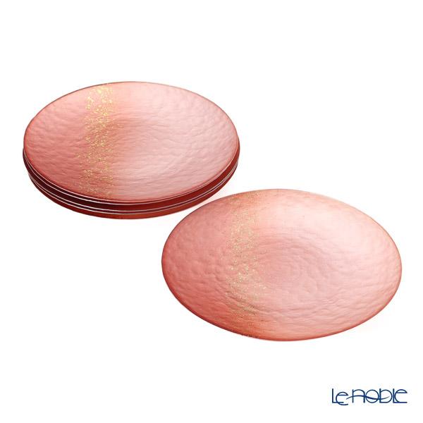 Vetro Felice 'Horizon' Pink Plate 28cm (set of 6)