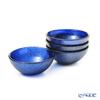 Vetro Felice 'Glitter' Dark Blue Bowl 9cm (set of 4)