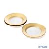Vetro Felice 'Circle' Gold Plate 21cm (set of 4)