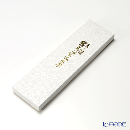 Wajima Lacquerware 'Silver Bunny' Red & Black Chopsticks (set for 2 person with paper box)