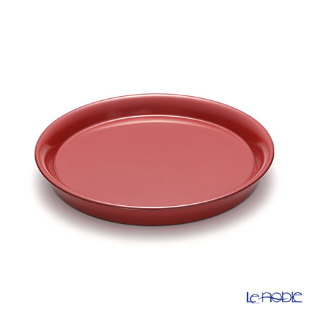 Wajima Lacquerware 'Red & Black' Mini Plate / Coaster (set of 2 colors)