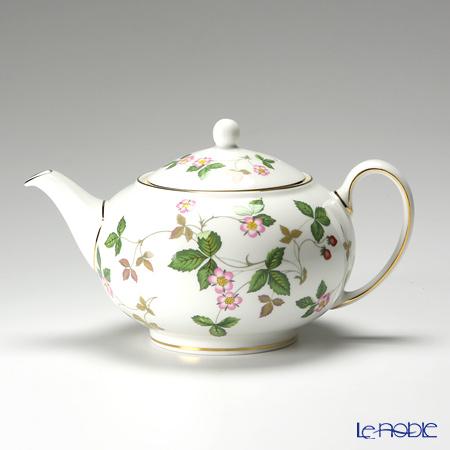 Wedgwood 'Wild Strawberry' Tea Pot, Sugar Pot, Creamer (set of 3)