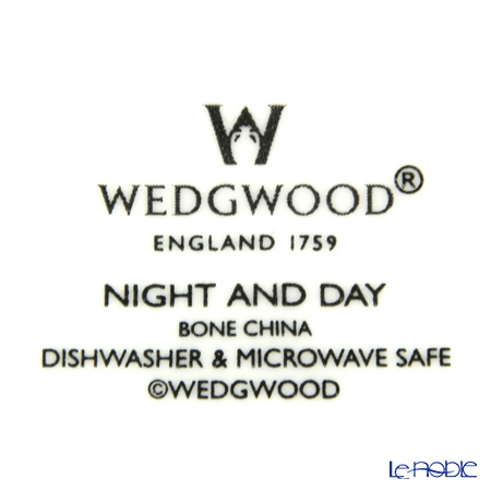 Wedgwood 'Night & Day - Checkboard' Plate 15cm (set of 2)