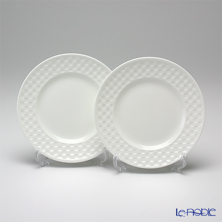Wedgwood Night and Day Plate - checkerboard - 15cm 2pcs.