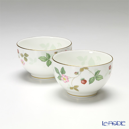 Wedgwood Wild Strawberry Japanese Tea Cup (set of 2)