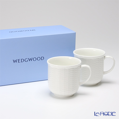 Wedgwood 'Nantucket Basket' Beaker / Mug 300ml (set of 2)