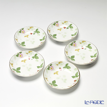 Wedgwood 'Wild Strawberry' Small Dish 11cm (set of 5)