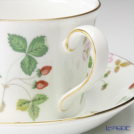 Wedgwood 'Wild Strawberry' Delphi Tea Cup & Saucer 150ml (set of 2)