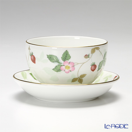 Wedgwood Wild Strawberry Japanese Tea Cup & Saucer