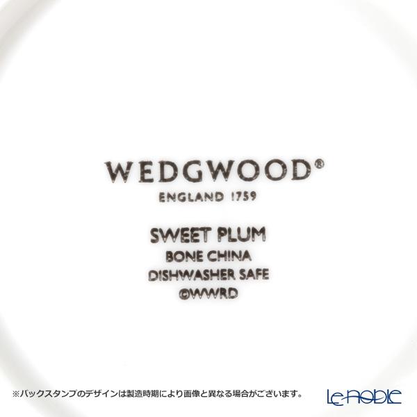 ウェッジウッド(Wedgwood) スウィートプラムティーカップ&ソーサー(ピオニー) ペア 【ブランドボックス付】